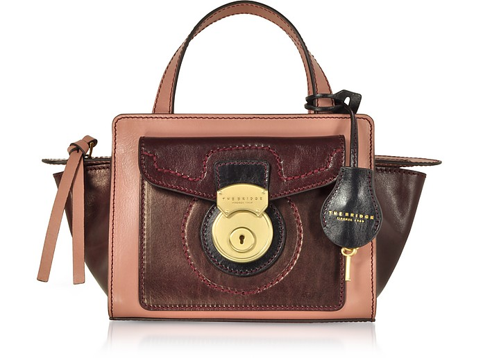 Rufina Small Leather Satchel Bag - The Bridge