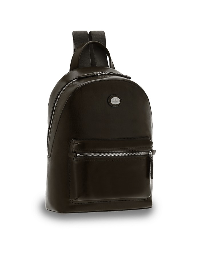 Story Uomo Genuine Leather Backpack w/Zip - The Bridge