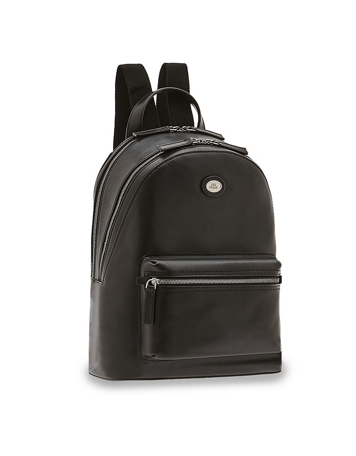 Story Uomo Genuine Leather Backpack w/two Zip Compartments - The Bridge