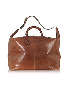 Story Viaggio Marrone Leather Weekender Bag - The Bridge