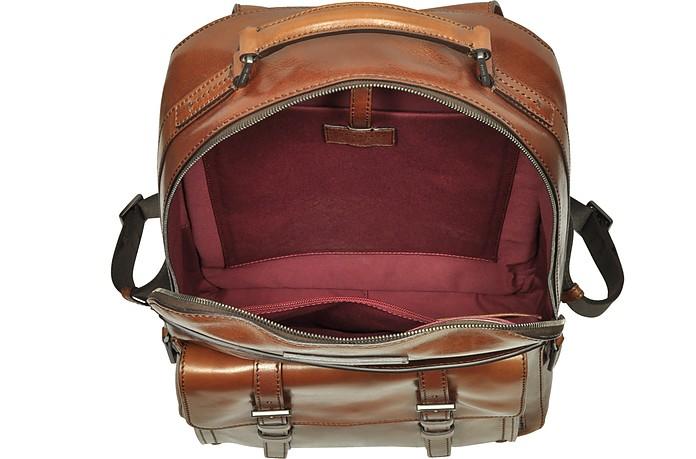 d0dfa74b50 Byron Brown Leather Men's Backpack - The Bridge. €717,50 €1.435,00 Actual  transaction amount