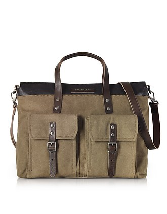123b6c67f97 Carver-D Canvas and Leather Men s Tote Bag - The Bridge