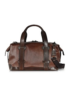 Pininfarina Legacy Marrone Leather Travel Bag