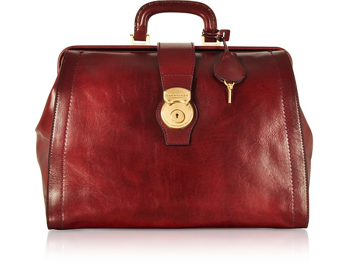 Capalbio Genuine Leather Doctor Bag - The Bridge
