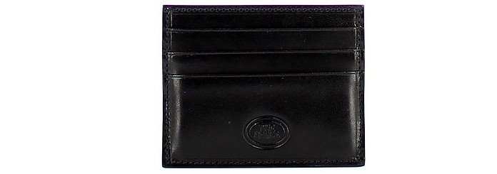 Men's Black Wallet - The Bridge