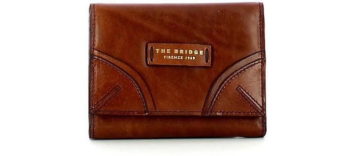Women's Brown Wallet - The Bridge