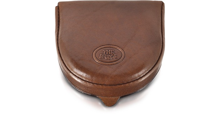 Story Uomo Leather Coin Purse - The Bridge
