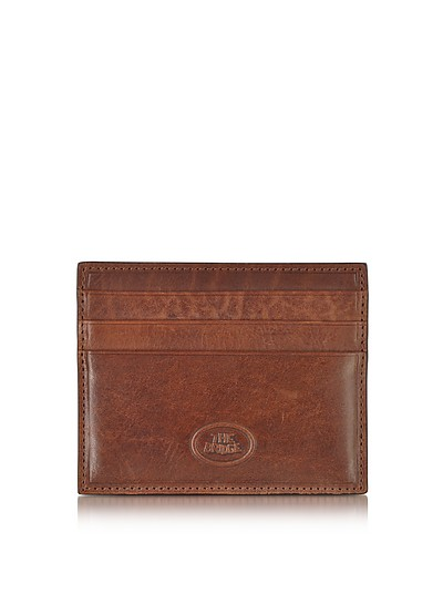 Story Uomo Leather Credit Card Holder - The Bridge