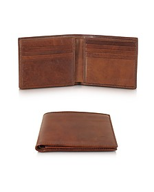 Story Uomo Leather Men's Billfold Wallet - The Bridge