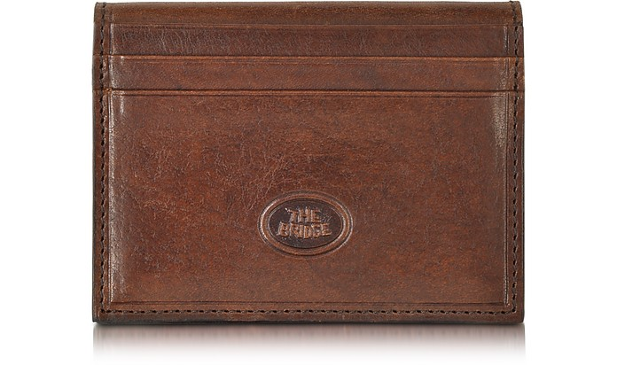 Story Uomo Leather Billfold Card Holder - The Bridge