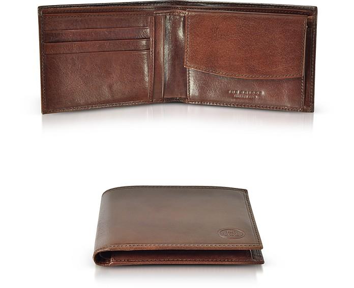 Story Uomo Brown Leather Billfold Men's Wallet - The Bridge