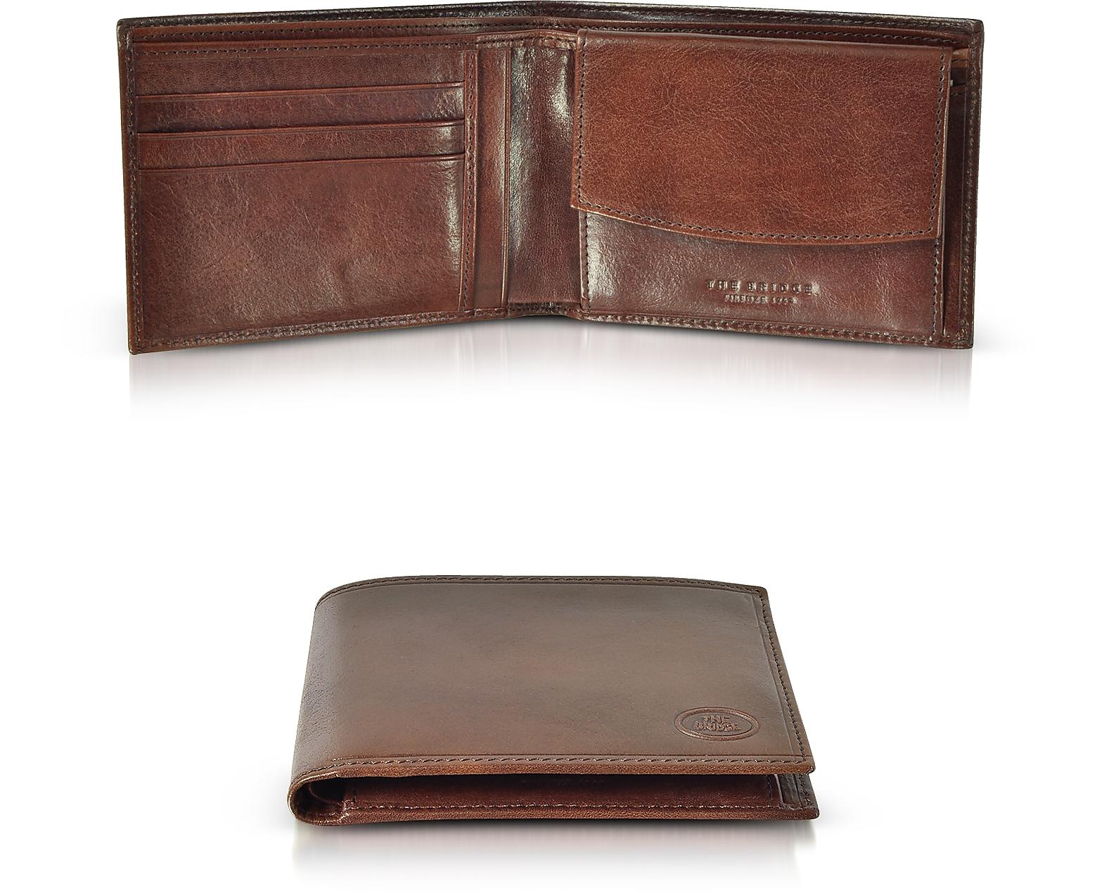 Story Uomo Brown Leather Billfold Men's Wallet