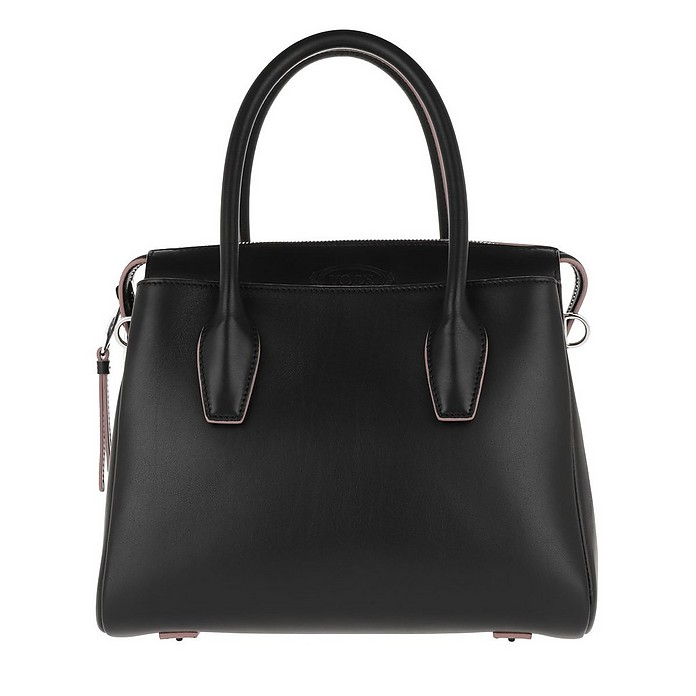 Shopper Leather Black - Tod's