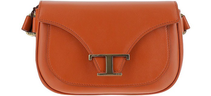Smooth Leather T Monogram Mini Belt Bag - Tod's