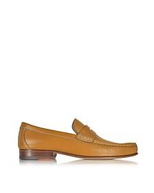 Cuoio Leather Moccasin Shoe - A.Testoni