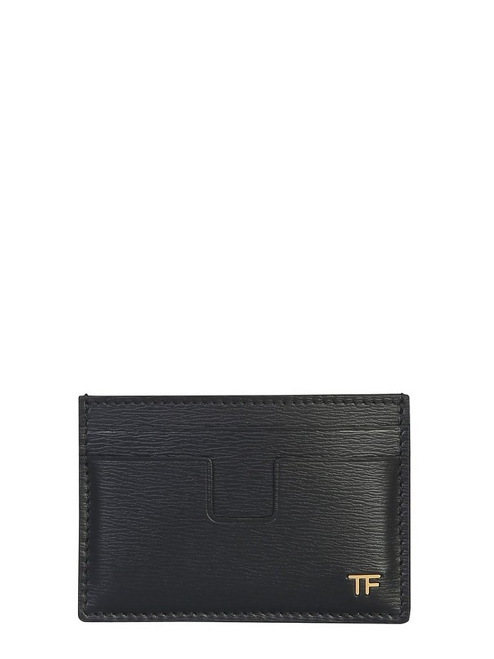 CARD HOLDER WITH LOGO - Tom Ford