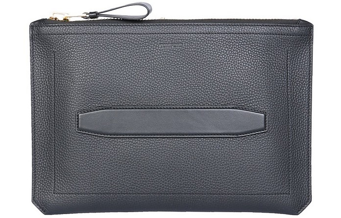 Hammered Leather Pouch - Tom Ford