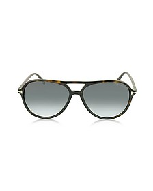JARED FT0331 Sonnenbrille im Pilotenstyle - Tom Ford