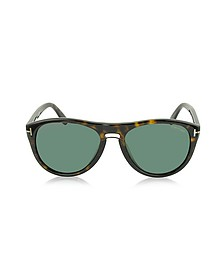 KURT FT0347 Sonnenbrille im Pilotenstyle - Tom Ford