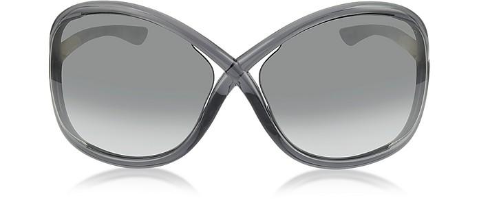 Whitney Ft009 B5 Oversized Soft Round Sunglasses