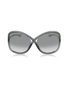 WHITNEY FT009 B5 Oversized Soft Round Sunglasses - Tom Ford