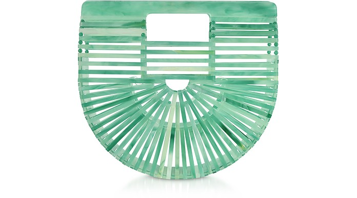 Seaglass Acrylic Mini Ark Bag - Cult Gaia