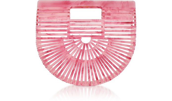 Cherry Quartz Acrylic Mini Ark Bag - Cult Gaia