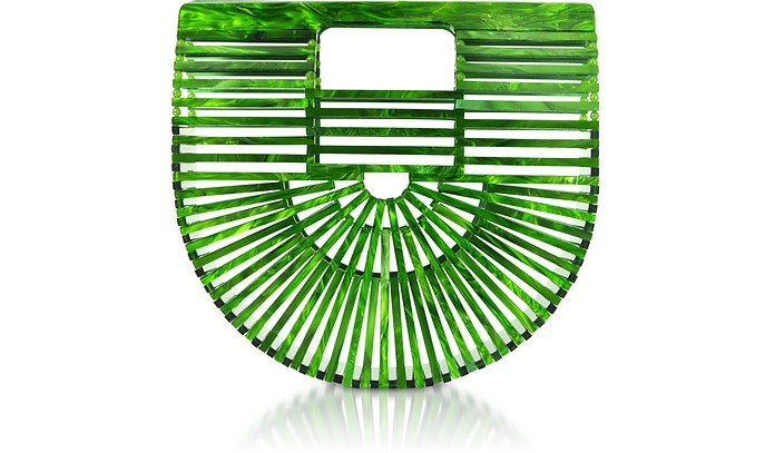 Malachite Acrylic Mini Ark Bag - Cult Gaia