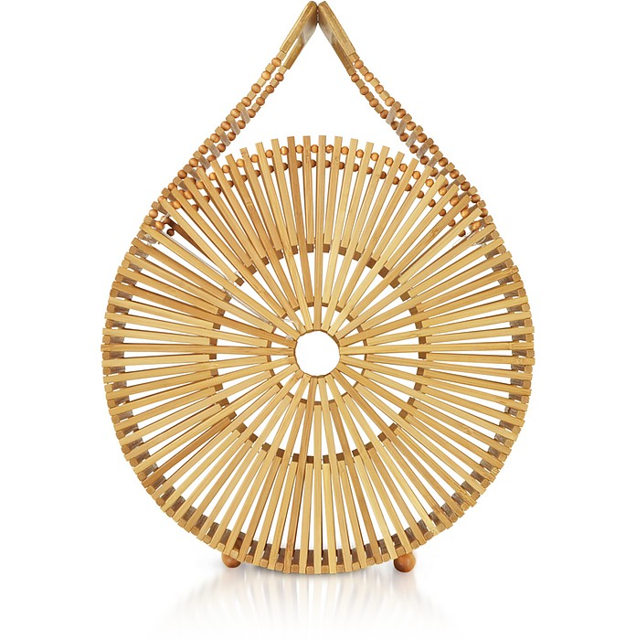 Natural Bamboo Zaha Bag - Cult Gaia