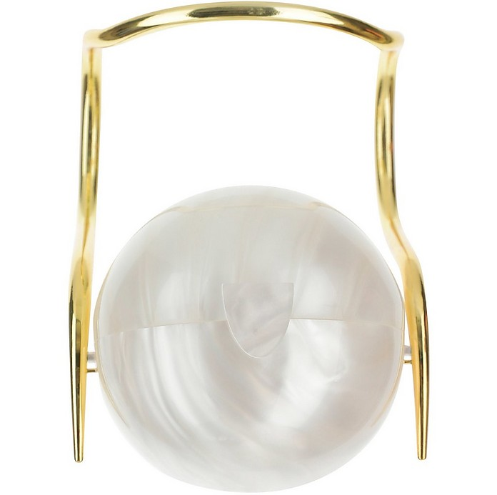 White Pearl Ball Bag - Cult Gaia