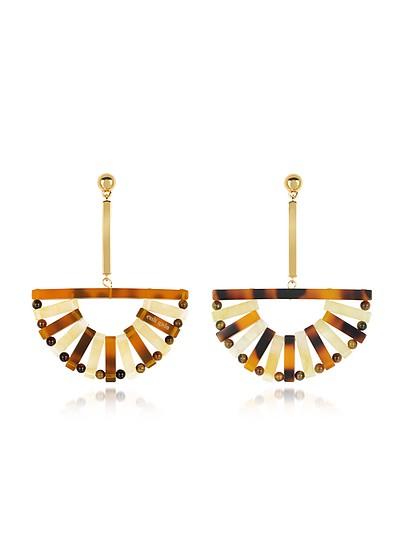 Acrylic Ark Earrings - Cult Gaia