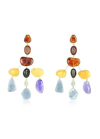 Amber Multi Sloane Earrings - Cult Gaia