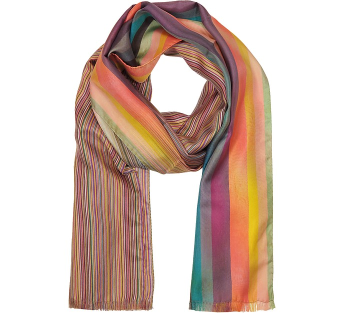 Multi Clash Men's Scarf - Paul Smith