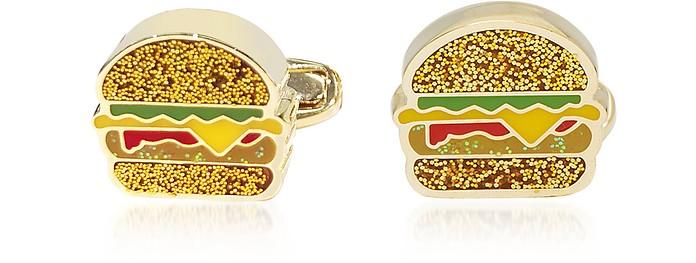 Hamburger Men's Cufflinks - Paul Smith