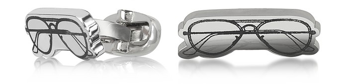 Men's Sunglasses Drawing Cufflinks  - Paul Smith