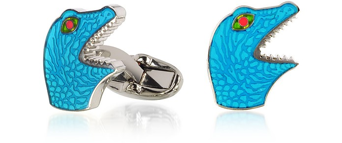 Blue Dino Cufflinks - Paul Smith