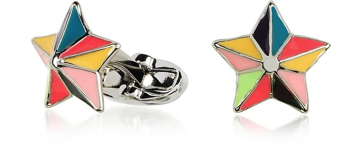 MultiColor Star Cufflinks - Paul Smith
