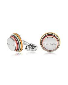 Layered Stripe Cufflinks
