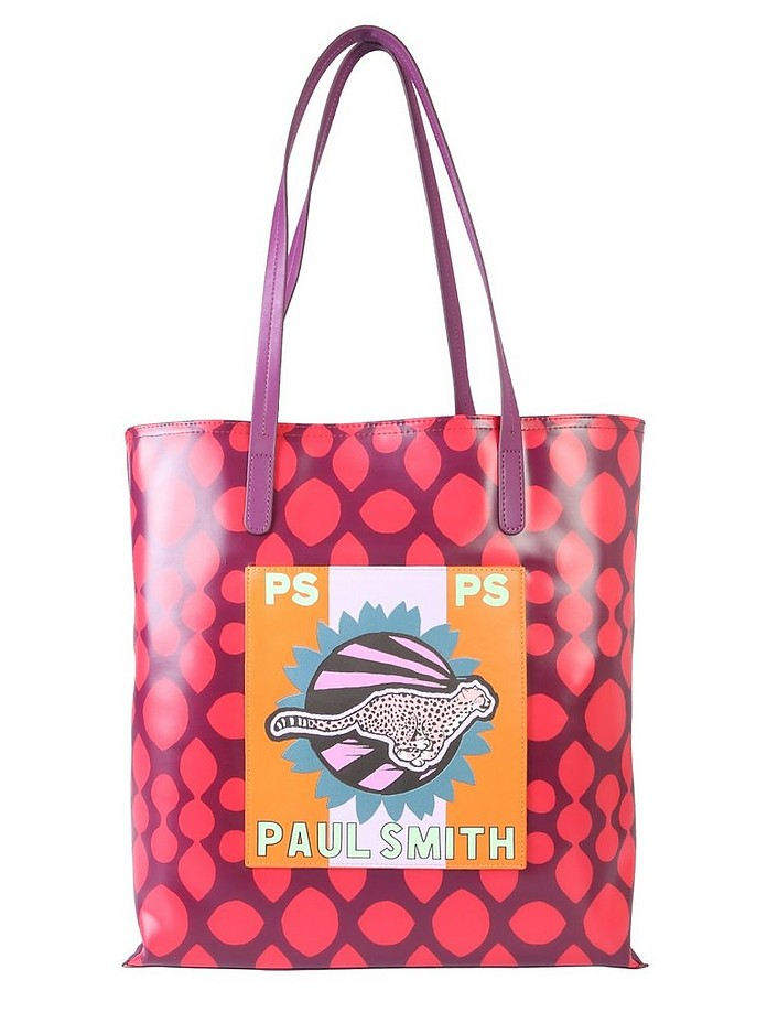 """LIVE FASTER "" SHOPPING BAG - Paul Smith"