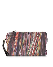 Wires Print Wash Bag