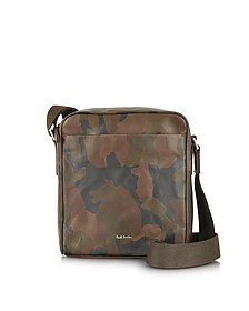 Small Artisan Camo Crossbody Bag