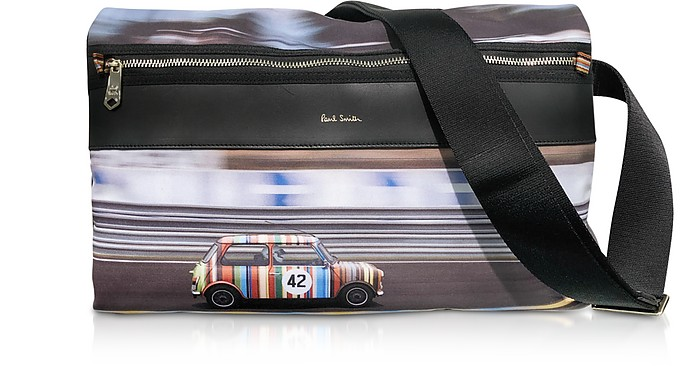 Mini Print Men's Messenger Bag - Paul Smith