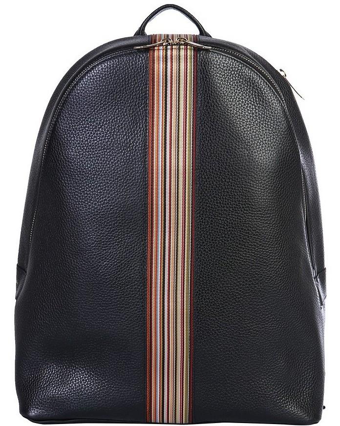 Backpack With Iconic Stripes - Paul Smith