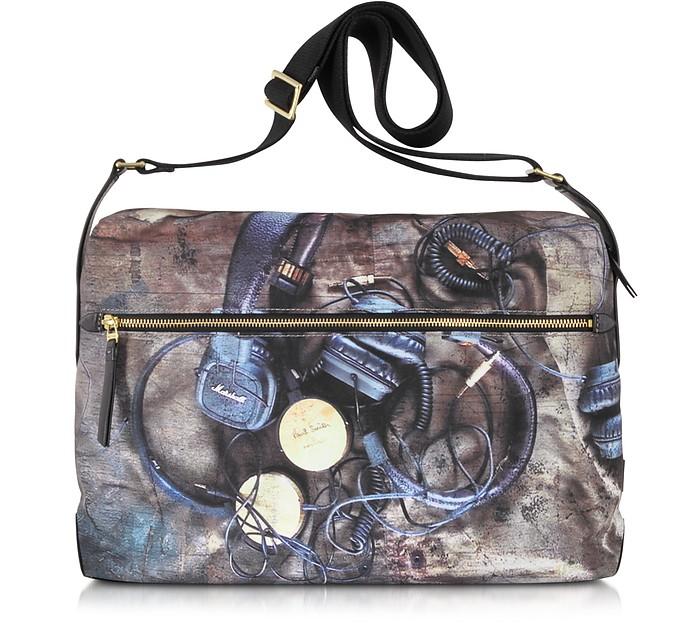 Headphones Print Flight Bag - Paul Smith
