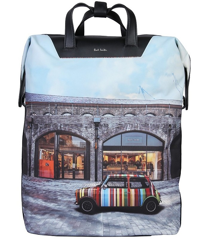Backpack With Mini Print - Paul Smith