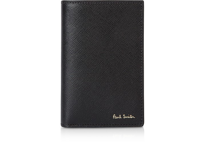 Mini Print Credit Card Vertical Wallet - Paul Smith