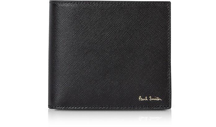 Mini Print Credit Card Billfold Men's Wallet - Paul Smith
