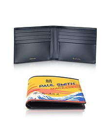 Mackerel Print Leather Men's Wallet - Paul Smith