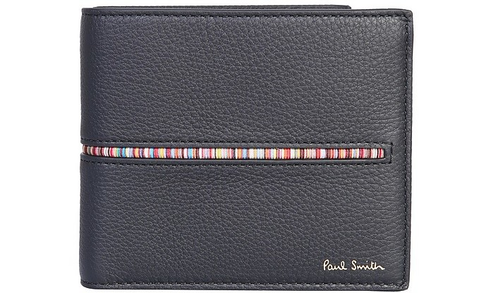 Billfold Wallet With Logo - Paul Smith