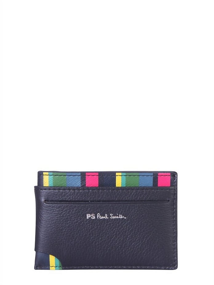 Leather Card Holder - Paul Smith